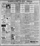 Portland Daily Press: May16, 1899