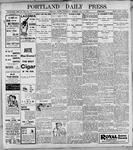 Portland Daily Press: May17, 1899