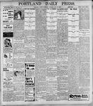 Portland Daily Press: May18, 1899