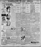 Portland Daily Press: May20, 1899