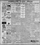 Portland Daily Press: May22, 1899