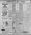 Portland Daily Press: May23, 1899