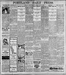 Portland Daily Press: May25, 1899