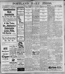 Portland Daily Press: May26, 1899