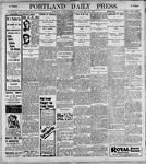 Portland Daily Press: May27, 1899