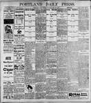 Portland Daily Press: May29, 1899