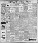 Portland Daily Press: May31, 1899
