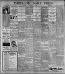 Portland Daily Press: June1, 1899
