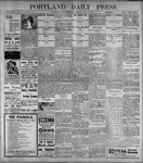 Portland Daily Press: June8, 1899