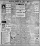 Portland Daily Press: June10, 1899