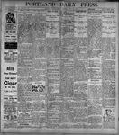 Portland Daily Press: June16, 1899