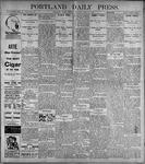 Portland Daily Press: June19, 1899