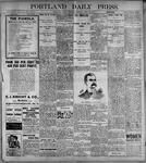 Portland Daily Press: June20, 1899