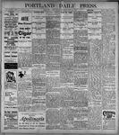 Portland Daily Press: June23, 1899