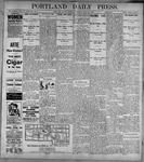 Portland Daily Press: June26, 1899