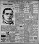 Portland Daily Press: June27, 1899