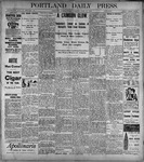Portland Daily Press: June30, 1899