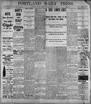 Portland Daily Press: July 11, 1899