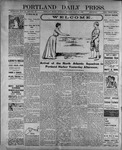 Portland Daily Press: July 13, 1899