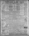 Portland Daily Press: July 15, 1899