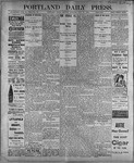 Portland Daily Press: July 17, 1899