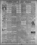 Portland Daily Press: July 18, 1899
