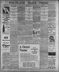 Portland Daily Press: July 19, 1899