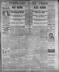 Portland Daily Press: July 20, 1899