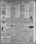 Portland Daily Press: July 21, 1899