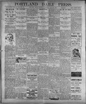 Portland Daily Press: July 22, 1899