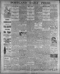 Portland Daily Press: July 24, 1899