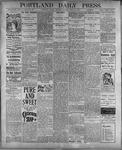 Portland Daily Press: July 25, 1899