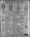 Portland Daily Press: July 27, 1899