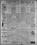 Portland Daily Press: July 28, 1899