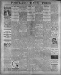 Portland Daily Press: July 29, 1899