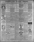 Portland Daily Press: August 1, 1899