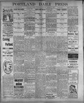 Portland Daily Press: August 3, 1899