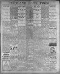 Portland Daily Press: August 8, 1899