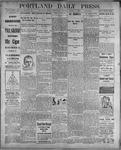 Portland Daily Press: August 9, 1899