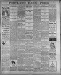 Portland Daily Press: August 10, 1899