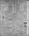 Portland Daily Press: August 12, 1899