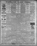 Portland Daily Press: August 14, 1899