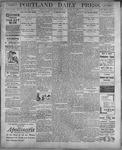 Portland Daily Press: August 18, 1899