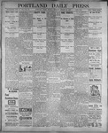 Portland Daily Press: August 21, 1899