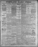 Portland Daily Press: August 23, 1899