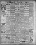 Portland Daily Press: August 24, 1899