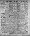 Portland Daily Press: August 25, 1899