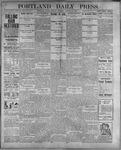 Portland Daily Press: August 28, 1899