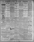 Portland Daily Press: September 1, 1899