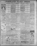 Portland Daily Press: September 5, 1899
